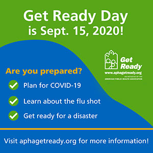 Get Ready Day is Sept. 15, 2020!