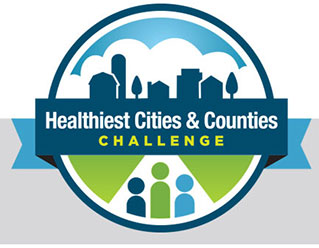 logo, Healthiest Cities & Counties Challenge