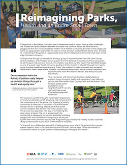 first page of Reimagining Parks conversation guide