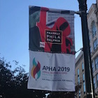 APHA Annual Meeting sign