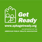 logo, APHA Get Ready campaign
